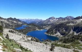 lac et pics réserve du Néouvielle